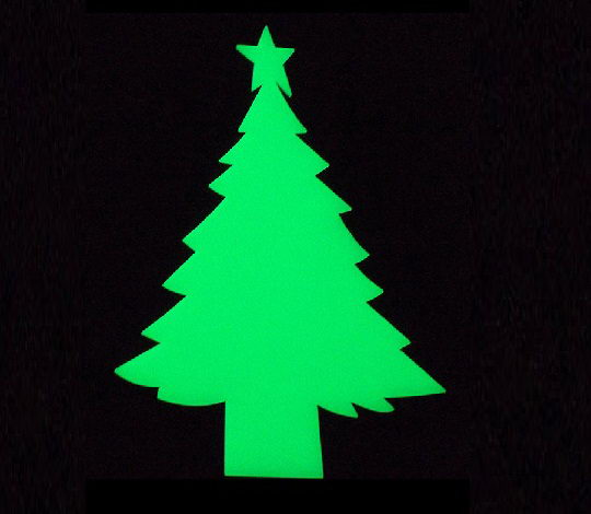 Glow in the dark Christmas Tree