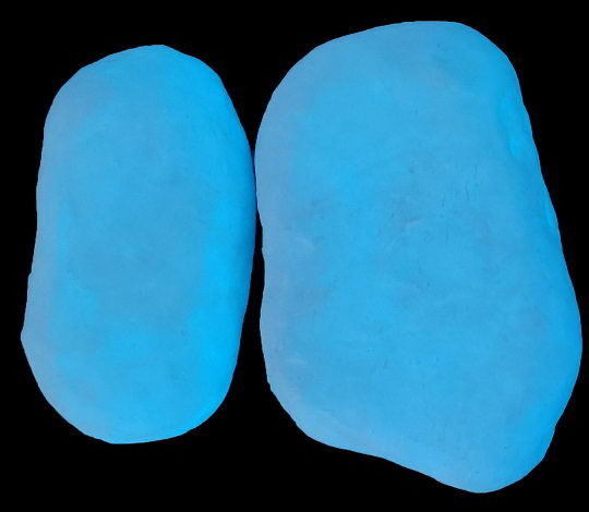 Top glow pebbles